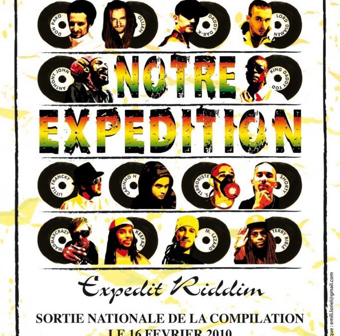 Flyers Expedit riddim Compilation Notre Expedition
