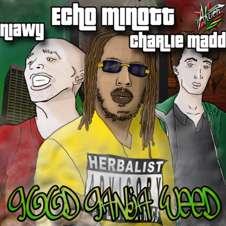 Echo Minott - Good-ganja-weed couverture